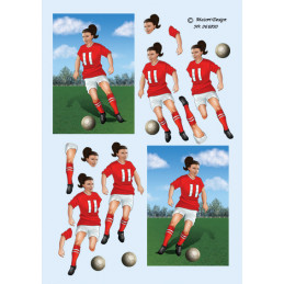 066890 Fodbold pige