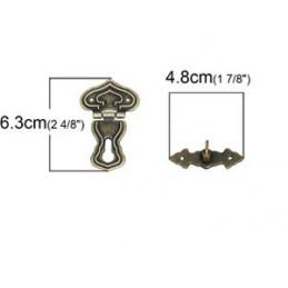 66 Antik lås