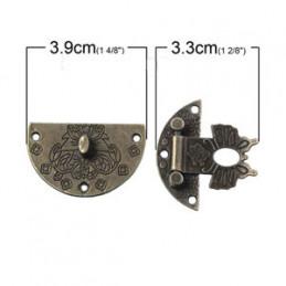 68 Antik lås