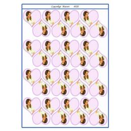 4028 Bordkort Pige