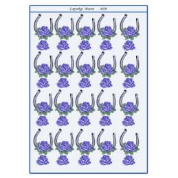 4020 Bordkort Hestesko