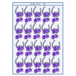4016 Bordkort Hestesko