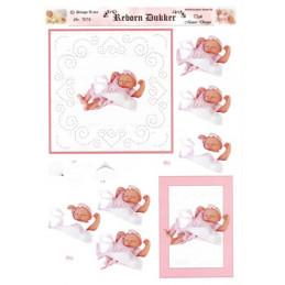 7074 Baby dukke