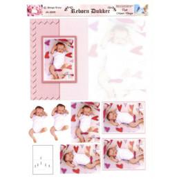 3009 Baby dukke