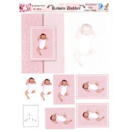 3014 Baby dukke