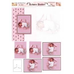 3018 Baby dukke