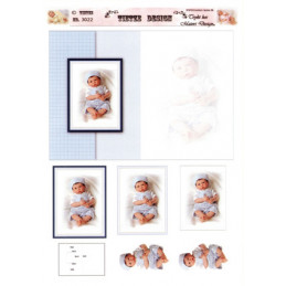 3022 Baby dukke