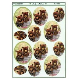 6036 Pyramide bjørne