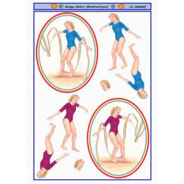 062057 Gymnastikpige