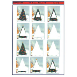 6046 Juletræ Pyramide
