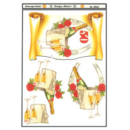 8024 Guld Bryllup