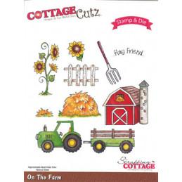 ccs-017 cottage stempel og die