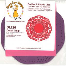 DL 126 Doilies Dies Skære...