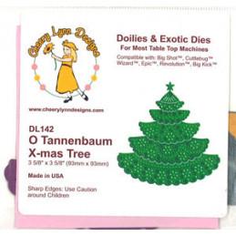 DL 142 O Tannenbaum X-mas Tree