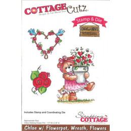 ccs-027 cottage stempel og die