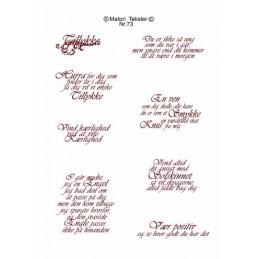 Nr 73 Matori tekst