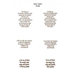 Nr 80 Matori tekst