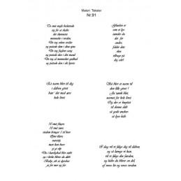 Nr 91 Matori tekst