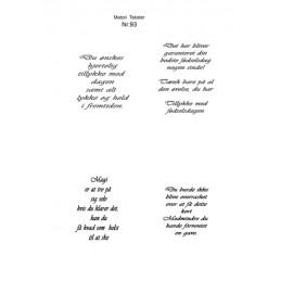 Nr 93 Matori tekst