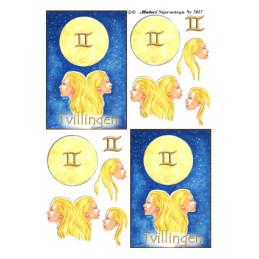 7017 Stjernetegn Tvillingen