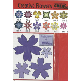 CL CF 09 Blomst skære dies...