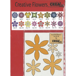 CL CF 14 Blomst skære dies...