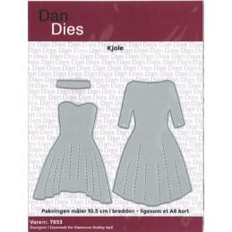 7853 Kjole Dan design die