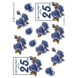 120745 HM- Design Blomst 25