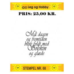 Stempel nr 68