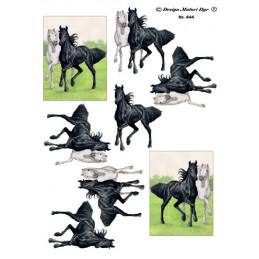 444 Matori Dyr Heste