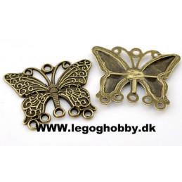 80 Antik sommerfugl