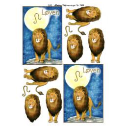 7021 Stjernetegn Løven