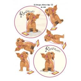449 Matori Dyr Musik Hund