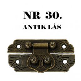 30 Antik Lås