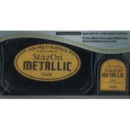 stazon metallic gold - sværte