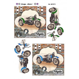 067271 Motorcykel