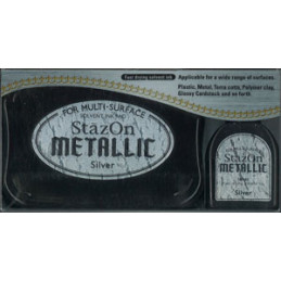 stazon metallic silver -...