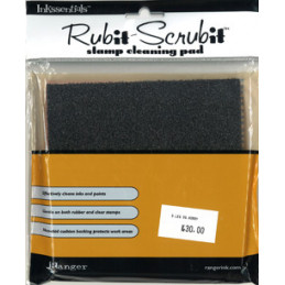 RUB09863 stamp Cleaning pad