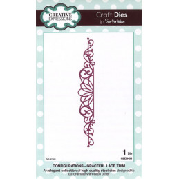 CED6403 GRACEFUL LACE TRIM