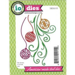 DIE353-YY IO-Dies Julekugler