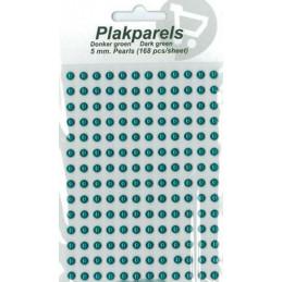 1501-006 Halv perler Mørke...