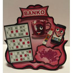 9135-1 Inspiration banko pink