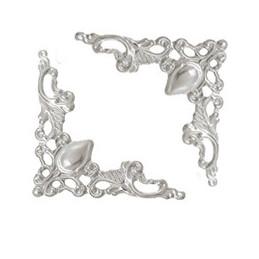 60 Antik Sølv hjørne