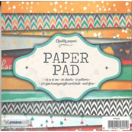 PPSL83 Paper Pad 15 x 15 cm