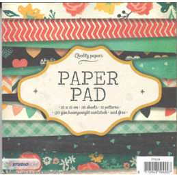 PPSL84 Paper Pad 15 x 15 cm