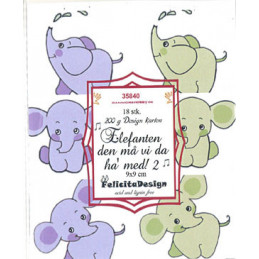 35840 Elefanten 9 x 9 cm