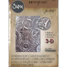 662715 3D Texture Fades Sizzix