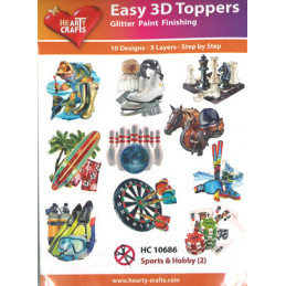 HC 10686 Easy Toppers