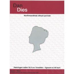 7842 Silhuet pige Dan dies