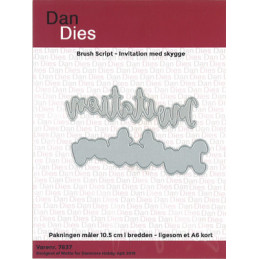 7837 Invitation Dan die